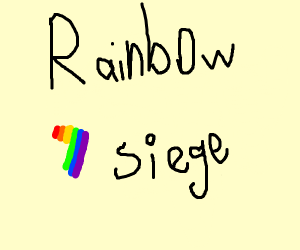 Rainbow seven siege and the seven is gay
