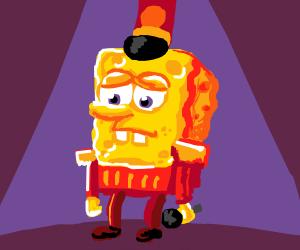 spongebob after halftime show