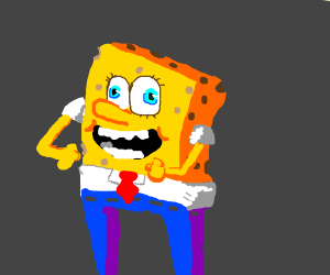 Spongebob Tightjeanspants