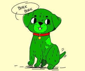 Green doggo