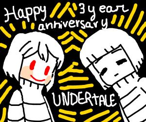 Undertale 3 year anniversary! :D