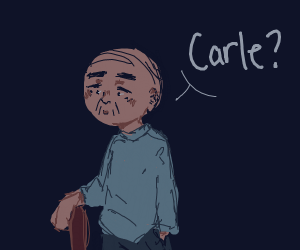 old man asking for carle