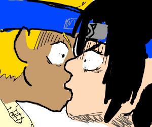 Naruto x saskue