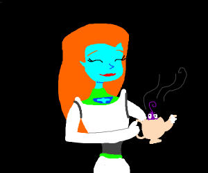 Alien brews fear in her tea