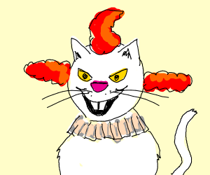 Pennywise as a kittyfurry