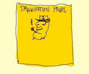 Popeye in a Drawception panel