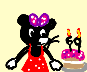 Minnie Mouse 60th bday