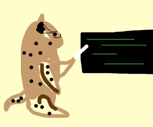 Cheetah Lecturing
