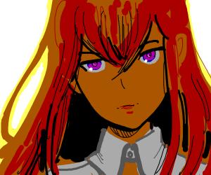 Kurisu from Steins;Gate