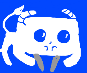The discord logo as an animal