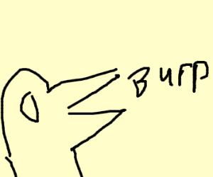 Burping Bird