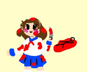 Chibi girl is secretly a murder ghost