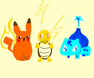 Pokemons swapped powers