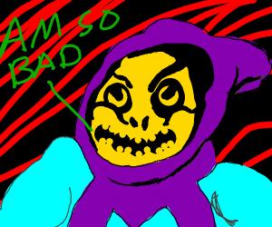 skeletor is the bad guy