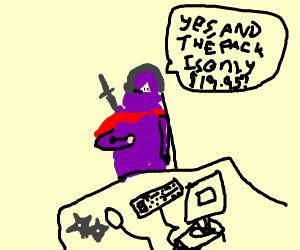 Ninja Telemarketer