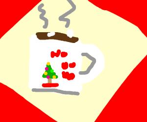 Hot cocoa w/marshmallows