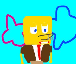 Spongebob is a smoker