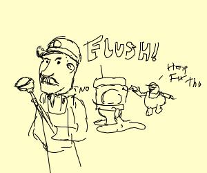 two italian plumbers