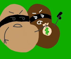 robber beans