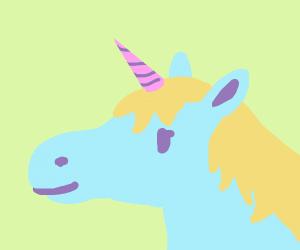 Beautiful magestic unicorn