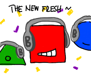 just shapes and beats 'the new fresh'