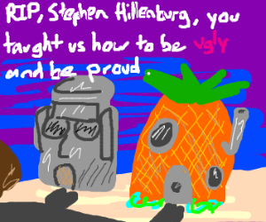 Free Draw but a tribute to Stephen Hillenburg