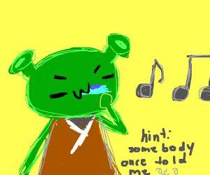 Shrek Plays the Kazoo