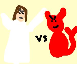Jesus versus devil