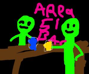 Area 51 alien bar