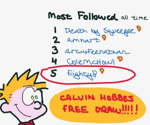 calvin hobbes free draw!!!!!