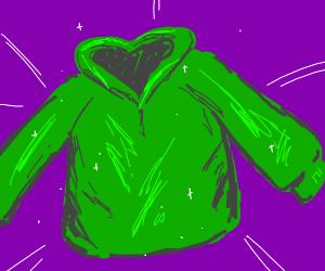 Glorious green hoodie
