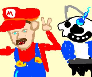 Mario and Sans