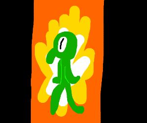 Squidward's art