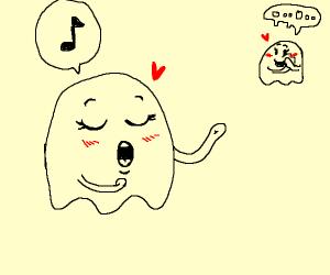Singing ghost