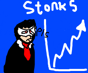 Joker tells you invest in stonks
