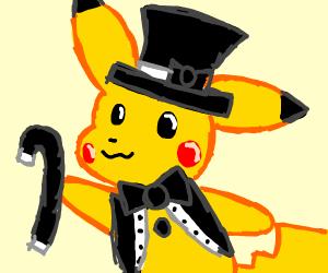 Dapper gentleman pikachu