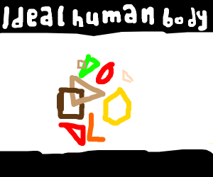 This is the ideal human body, You may not l..