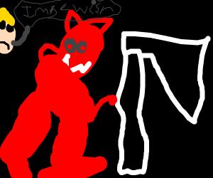 demonic peppa pig