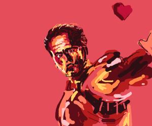 Iron Man in love