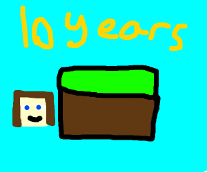 10 years of Minecraft!