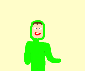 iDubbbz Green suit