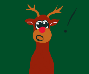 Rudolph is shocked!