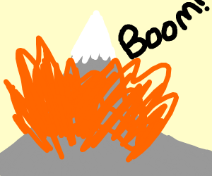 Boom goes the mountain