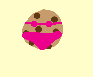 There's something NSFW here...with a cookie