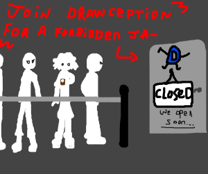 People join Drawception for the forbidden Ja-