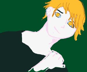 Smiling Rantaro Amami (Danganronpa