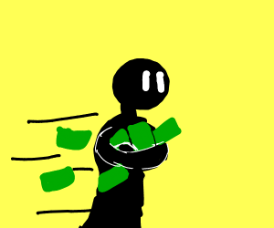 Step 13: Run with the money