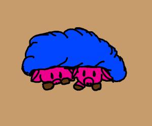 Literal Pigs in a Blanket