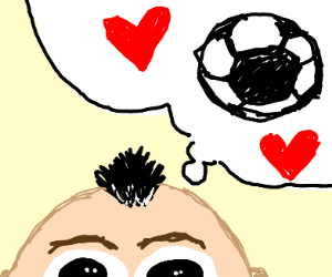 a person that really loves soccer