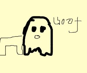 ghost dog barking